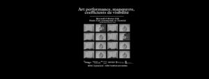 Art performance, manœuvre, coefficients de visibilité