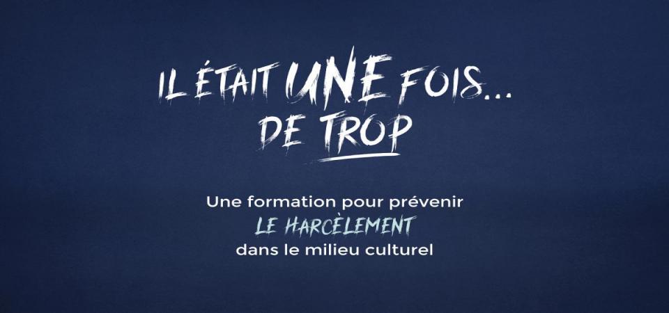 Formation pour prévenir le harcèlement dans le milieu culturel