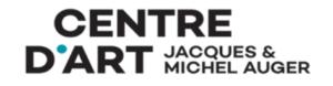 Centre d'Art Jacques et Michel Auger Logo