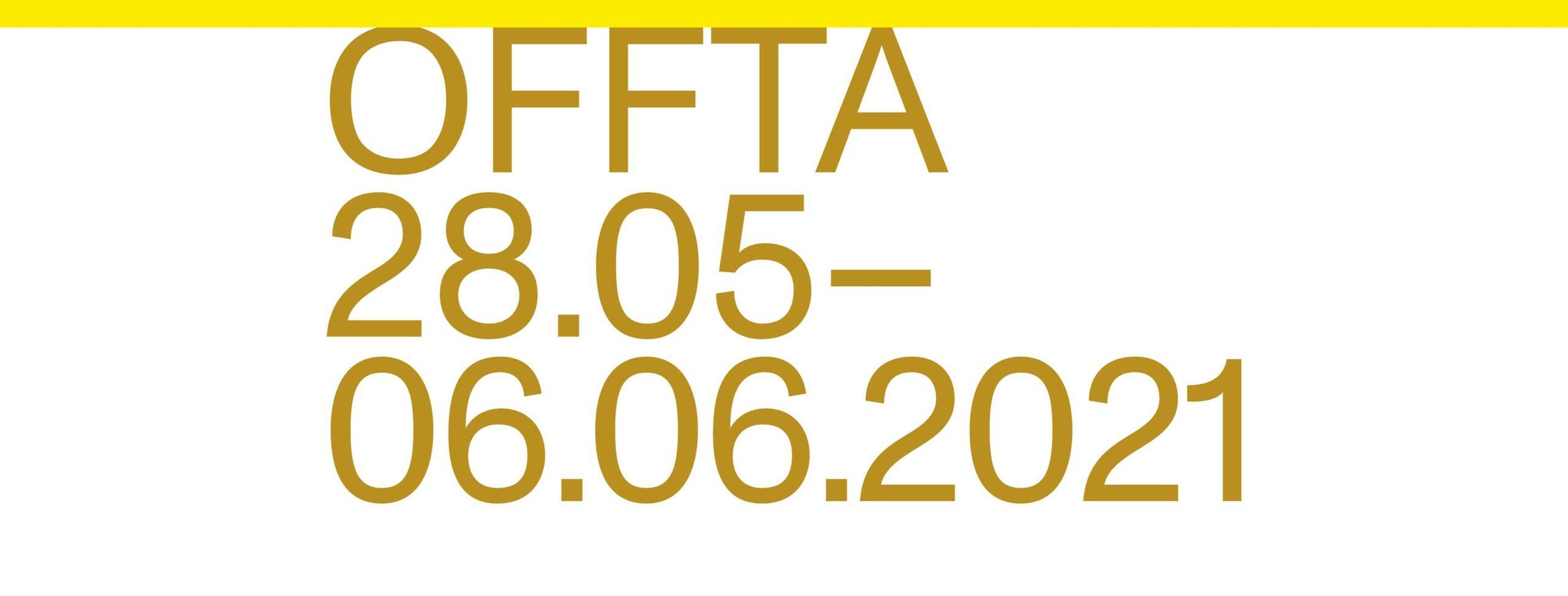 Bannière du festival OFFTA 20211